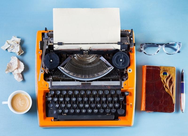 タイプライターの写真
