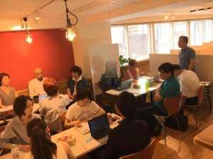 勉強会の様子を写した写真