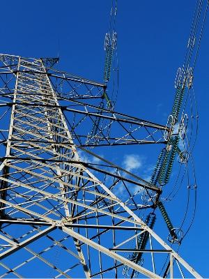 送電塔の写真