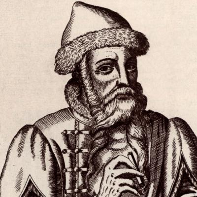 Gutenbergの肖像画