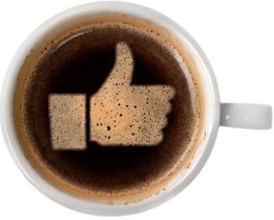 コーヒーアートのいいね